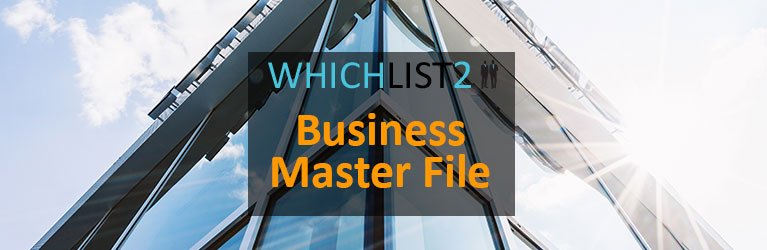 Business Master File - WhichList2