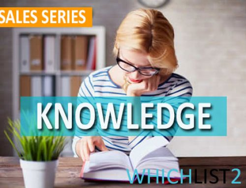 Knowledge – Sales Series Part 8