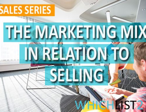 The Marketing Mix in Relation to Selling – Sales Series Part 4