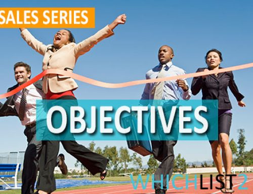 Objectives – Sales Series Part 5