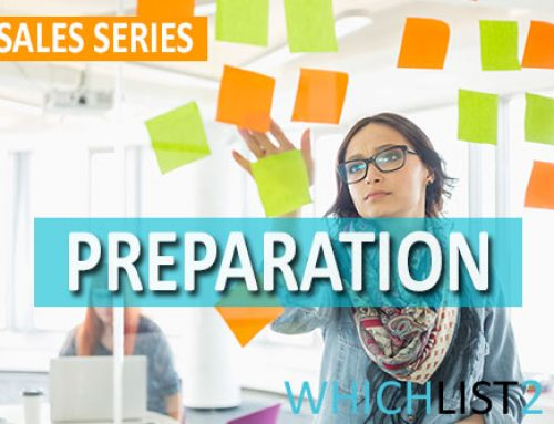 Preparation – Sales Series Part 6