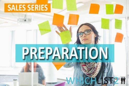 Preparation - Sales Series