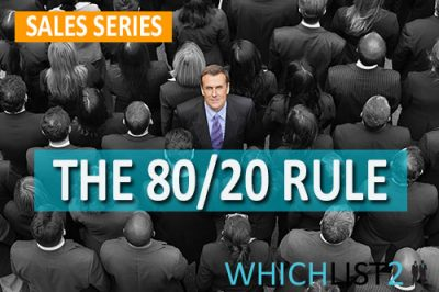 The 80/20 Rule - Sales Series