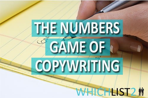 The Numbers Game of Copywriting