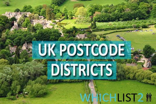 UK Postcode Districts