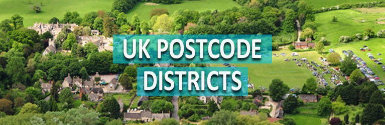 UK Postcode Districts